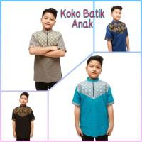 Baju Koko Batik Anak