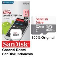 Promo Murah Sandisk Microsd 32Gb 80Mb/S / Micro Sd 32Gb Sandisk Tanpa