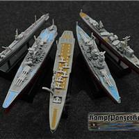 Model kit kapal perang Jepang IJN Yamato Kongo I-400 Hatsuharu Hosho