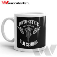Harga gelas mug keramik souvenir mug otomotif biker motorcycle old | antitipu.com
