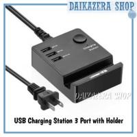 USB Charging Station 3 Port with Smartphone Holder - UGreen