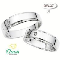 Cincin Kawin Tunangan Perak Couple DW.37a