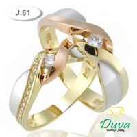 Cincin Kawin Tunangan Perak J.61 (SINGLE)