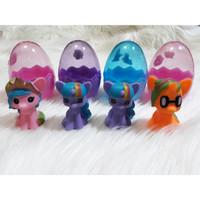 B1B1241 Mainan anak egg surprice kuda poni telur