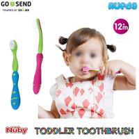 Nuby Toddler Toothbrush Sikat Gigi Anak 1 Tahun Keatas