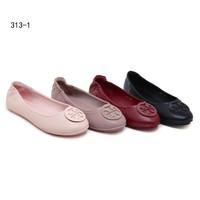 3574d6f9a Sepatu Tory Burch Minnie Travel Ballet Flat 313-1 - sepatu wanita flat