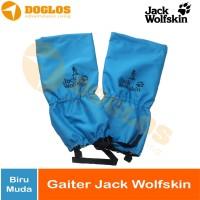 Gaiter Jack Wolfskin Jws Pelindung Kaki dan Sepatu saat Hiking WP