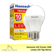Lampu LED Tiga Warna / Hannochs Tricolour LED 10 W