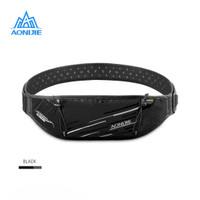 Aonijie Waist Bag W952 - Tas Pinggang Running outdoor - BLACK