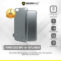 MicroPack Power Case for iPhone 6 plus (2000 mAh) MPC-i6+ Outlander