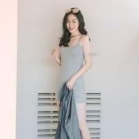 Basic Stretch Camisole Dress Erato / Dress Wanita
