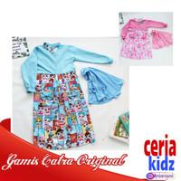 Setelan Gamis Catra Original