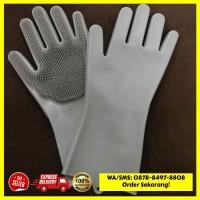 [Hot Item] Silicone Dishwashing Gloves Magic glove Sarung tangan