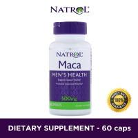 Harga natrol maca 500mg 60 kapsul supplemen kesehatan pria vitamin | antitipu.com