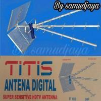 Murah antena tv titis tt 1000 uhf outdoor antena luar antena sensiti