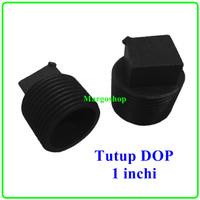 Plug 1 Inchi Dop Drat Luar Tutup Kran Sumbat Pipa PVC