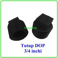 Plug 3/4 Inci Dop Drat Luar Tutup Kran Sumbat Pipa PVC