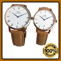 JAM TANGAN PRIA DW COUPLE DAPPER DURHAM 34 & 38MM ROSEGOLD ORIGINAL