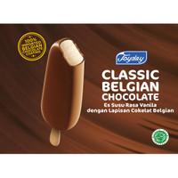 JOYDAY Ice Cream Classic Belgian Chocolate (1 karton = 20 pcs)