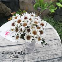 Jual Bunga Matahari Artificial Bunga Matahari Palsu Bunga Plastik Hias Putih Kab Sleman Bunga Plastik Hana Tokopedia
