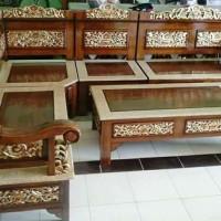 Kursi Tamu Minimalis Ukiran Jepara - Furniture Jepara