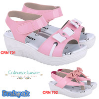 Sandal Pesta Anak Perempuan Wedges Catenzo CRN
