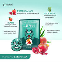 HANASUI ANIMAL DRAGON FACE MASK - ANTI AGING
