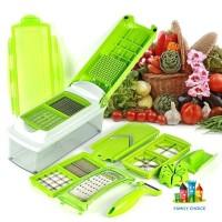 Genius Nicer Dicer Plus / Alat Dapur Pemotong Sayur Serba Guna