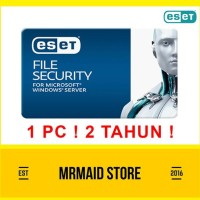 Promo Antivirus Eset File Security - Windows Server 1 Pc 2 Tahun