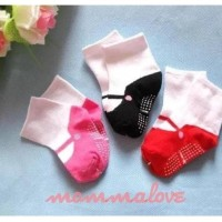 Hot Produk Kaos Kaki Anti Slip Bayi Perempuan - Merah Berkualitas