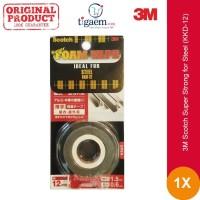 3M Super Strong Double Tap for Steel KKD-12 - Untuk Alumunium, Kaca,