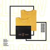 Kaos Polos Good Sunday Yellow