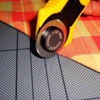( Terbaru ) 28mm Circular Cut Blade Patchwork Fabric Leather Craft Ro