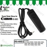 DISKON Remote Shutter Release for Canon RS 60E3 1200D 1100 Berkualitas