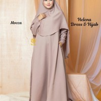 Helena Dress n Hijab Mocca XL
