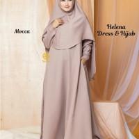 Helena Dress n Hijab Mocca M, L