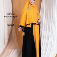 Clarissa Dress n Hijab Kunyit M,L