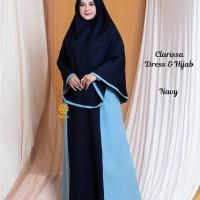 Clarissa Dress n Hijab Navy XL