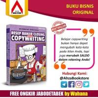 Buku Bisnis Resep Banjir Closing dengan Copywriting