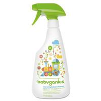 PROMO!! Babyganics Toy & Highchair Cleaner Fragrance Free - 502ml
