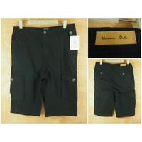 Celana Pendek Cargo Mossimo Dutti Black Original