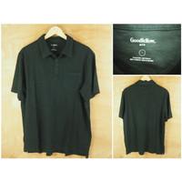 Kaos Kerah Goodfellow Original Black