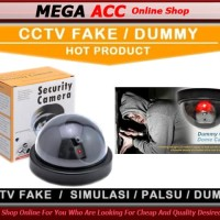 Dummy CCTV Palsu / Fake CCTV / Replika + Infrared Dummy CCTV Palsu / F