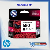 Cartridge HP 680 Black / Catridge HP680 Hitam