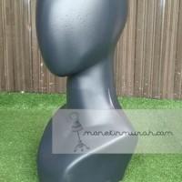 Manekin Kepala Polos|Manekin Kepala Jilbab|Patung Kepala Jilbab
