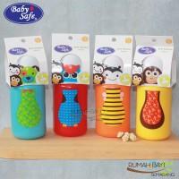 Babysafe Bottle Silicone Spout 300ml SK005 - Botol Minum Anak