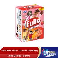 FULLO STICK CHOCOLATE STRAWBERRY 9GR - 1 BOX ISI 24PCS