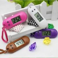 gantungan kunci jam digital gantungan kunci jam unik asli