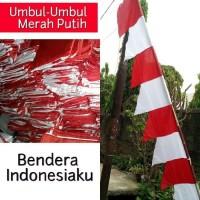 Bendera Merah Putih Umbul Umbul (panjang 3 meter)