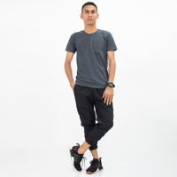 ICHSAN Al-Isra Celana Sirwal Jogger Pangsi 3/4 Slimfit Fashion Muslim
